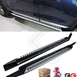 BMW X4 F26 2014 UP SIDE STEPS SIDE BARS RUNNING BOARDS OEM FACTORY STYLE