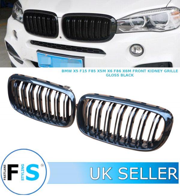 BMW X5 F15 F85 X5M X6 F16 F86 X6M FRONT KIDNEY GRILLES