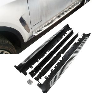 BMW X6 F16 RUNNING BOARDS ALUMINIUM SIDE STEPS NEW 2015 UP MODELS 100% OEM FIT