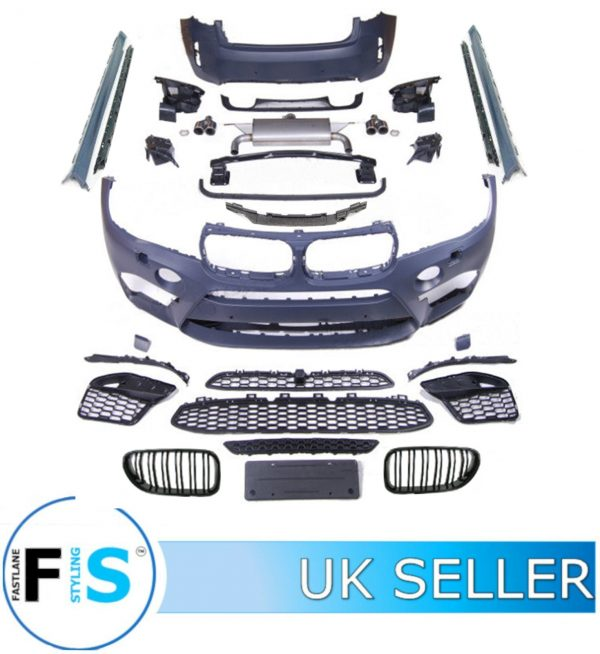 BMW X6 F16 X6M STYLE FULL BODY KIT