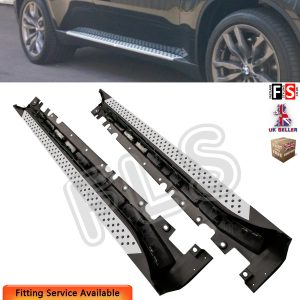 BMW X6 E71 2008-2014 SIDE STEPS RUNNING BOARDS OEM STYLE STEP