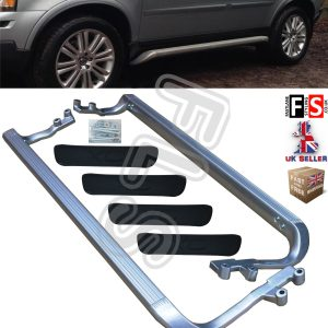 VOLVO XC90 ALUMINIUM SIDE STEPS XC 90 RUNNING BOARD BARS 2002-2013 OEM STYLE FIT