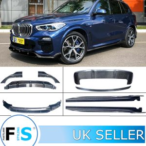 BMW X5 G05 ABS BODYKIT FRONT SPLITTER LIP REAR DIFFUSER SIDE SKIRTS