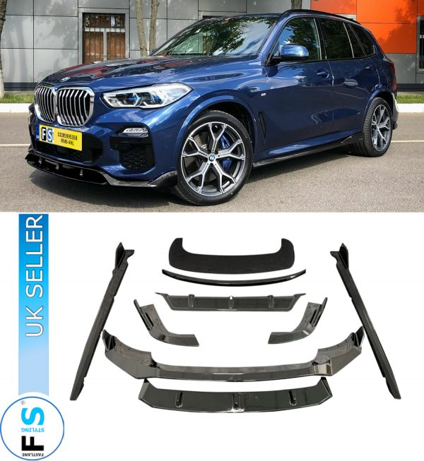 BMW X5 G05 AERO BODYKIT GLOSS BLACK