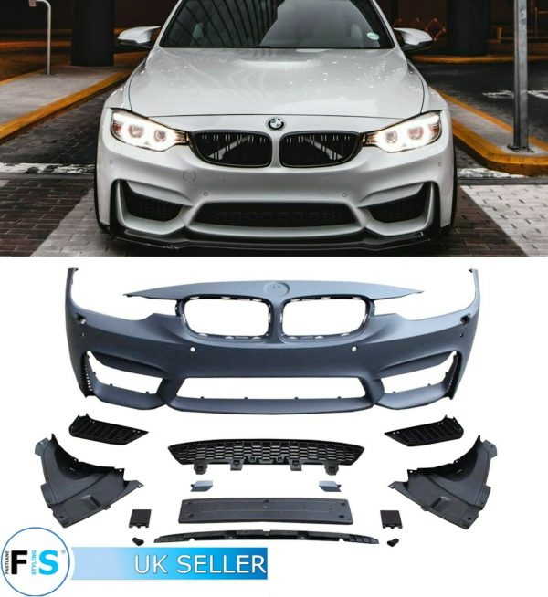 BMW 3 SERIES F30 M3 F80 BODYKIT CONVERSION FRONT REAR BUMPER