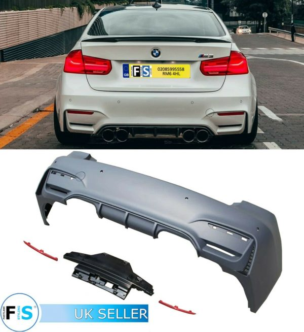 BMW 3 SERIES F30 M3 F80 BODYKIT CONVERSION REAR BUMPER