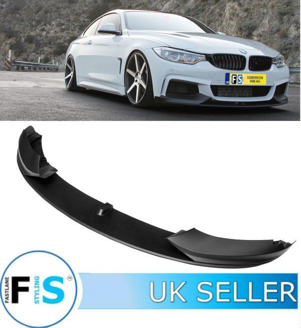 BMW 4 SERIES F32 F33 F36 3 PCs FRONT LIP SPLITTER