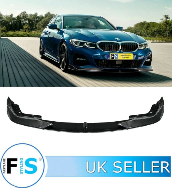 BMW 3 SERIES G20 G21 M SPORT P STYLE FRONT LIP SPLITTER 3PC