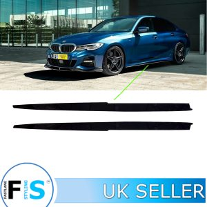 BMW 3 SERIES G20 G21 M SPORT P STYLE SIDE EXTENSION BLADES