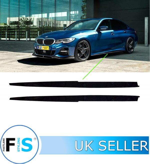 BMW 3/4 SERIES F30 F31 E90 E92 E93 F32 F33 M SPORT P STYLE SIDE EXTENSION BLADES