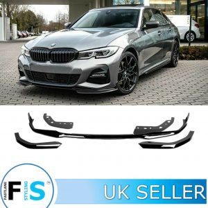 BMW 3 SERIES G20 G21 5 PCs M PERFORMANCE FRONT SPLITTER