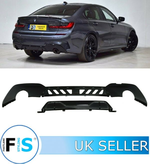 BMW 3 SERIES G20 G21 PERFORMANCE SPORT REAR DIFFUSER