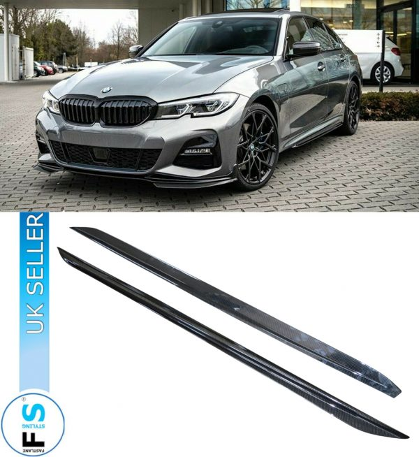 BMW 3 SERIES G20 G21 M PERFORMANCE SIDE BLADES EXTENSION