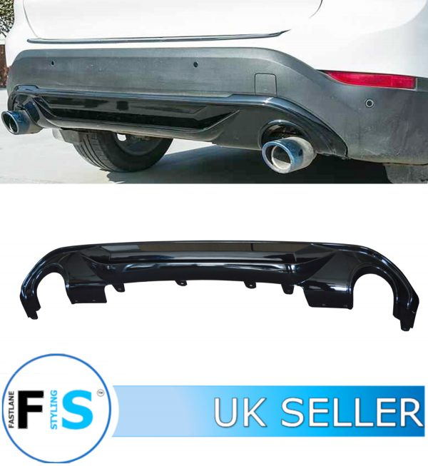 BMW X1 F48 PERFORMANCE REAR DIFFUSER