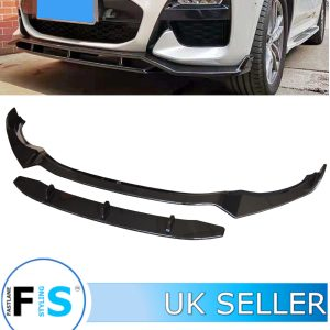 BMW X3 G01 X3M GLOSS BLACK M PERFORMANCE FRONT LIP SPLITTER