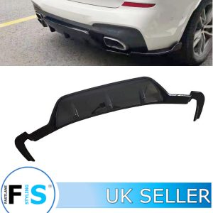 BMW X3 G01 X3M GLOSS BLACK M PERFORMANCE REAR LIP SPLITTER