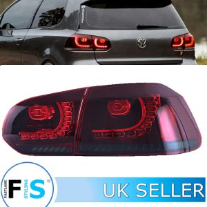VW GOLF MK6 GTI GTD R20 2009-2013 SEQUENTIAL DYNAMIC REAR LIGHTS