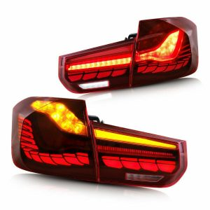 BMW 3 SERIES REAR TAIL LIGHT SET F30 F35 F80 M3 LED SEQUENTIAL