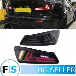 LEXUS IS250 IS350 IS200 ISF LED REAR TAIL LIGHTS