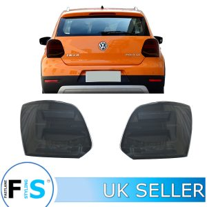 VW POLO 6R 6C TDI MK5 DYNAMIC LED TAIL LIGHTS SMOKEY