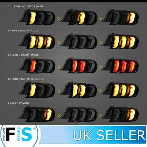 FORD MUSTANG LED REAR TAIL LIGHTS