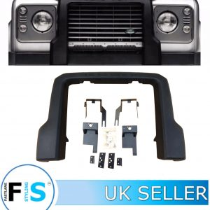 LAND ROVER DEFENDER 90 110 130 FRONT BUMPER A FRAME PROTECTION BAR