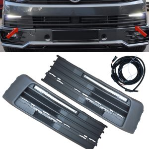 VW VOLKSWAGEN TRANSPORTER T6 DAYTIME RUNNING LIGHTS DRL KITS UPGRADE LED OEM FIT